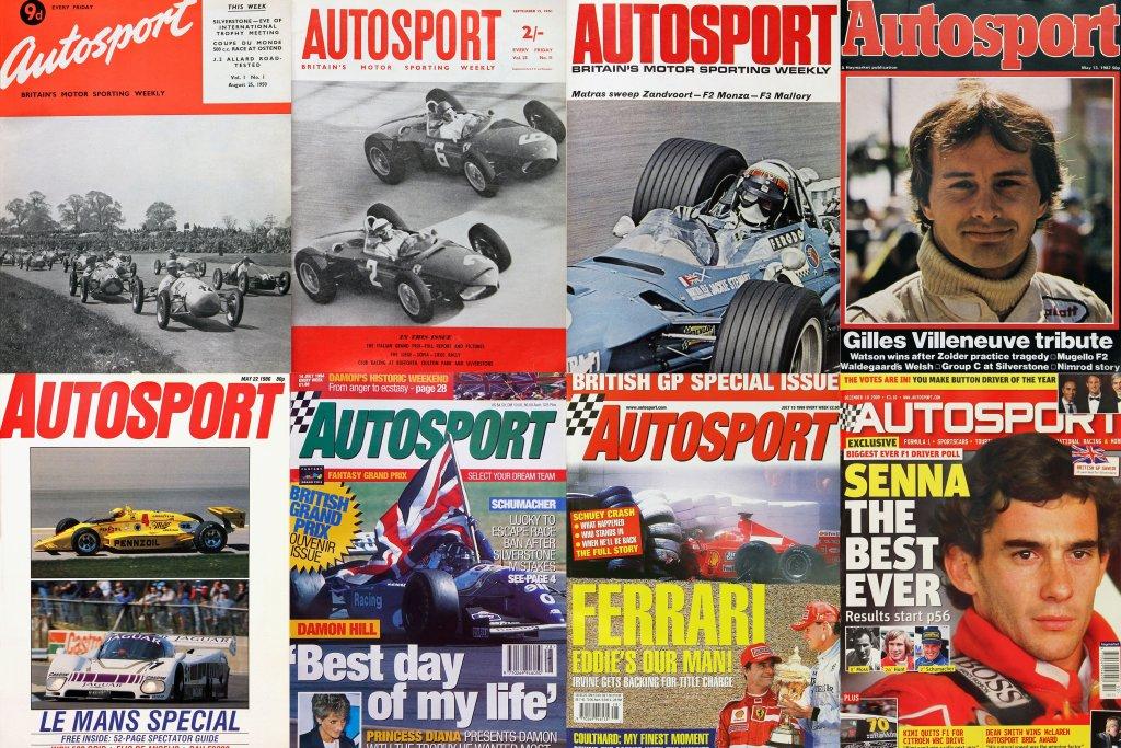 Autosport Magazine Covers