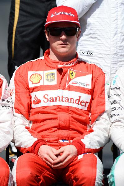 Kimi Raikkonen (FIN) Ferrari at Formula One World Championship, Rd1, Australian Grand Prix, Race, Albert Park, Melbourne, Australia, Sunday 15 March 2015.