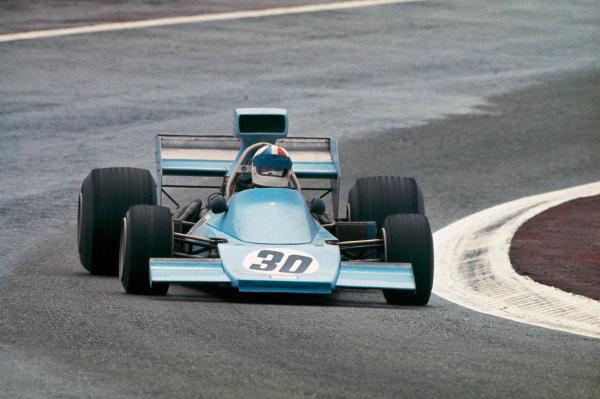 1974 Spanish Grand Prix.  Jarama, Madrid, Spain. 26-28th April 1974.  Chris Amon, Amon AF1 Ford, retired.  Ref: 74ESP12. World Copyright: LAT Photographic