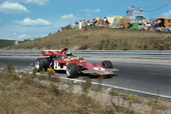 1971 Canadian Grand Prix.  Mosport, Canada. 17-19th September 1971.  Reine Wisell, Lotus 72D Ford.  Ref: 71CAN01. World Copyright: LAT Photographic