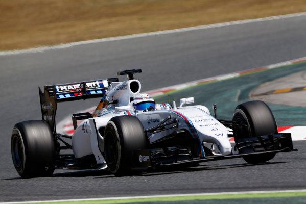 Circuit de Catalunya, Barcelona, Spain. Wednesday 14 May 2014. Susie Wolff, Williams FW36 Mercedes.  World Copyright: Sam Bloxham/LAT Photographic. ref: Digital Image _SBL0301