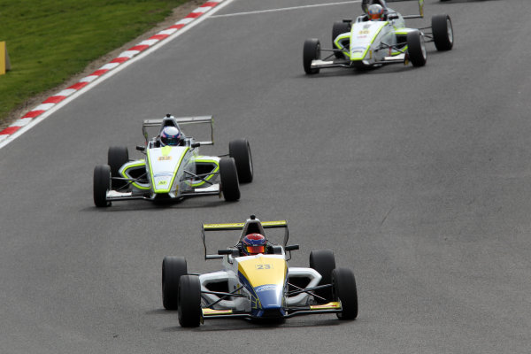 2014 MSA Formula Ford Championship of Great Britain, Brands Hatch, Kent. 28th - 30th March 2014. Chris Mealin (GBR) Falcon Motorsport Mygale. World Copyright: Ebrey / LAT Photographic.