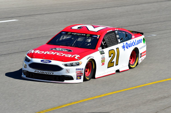 Monster Energy NASCAR Cup Series Federated Auto Parts 400 Richmond Raceway, Richmond, VA USA Friday 8 September 2017 Ryan Blaney, Wood Brothers Racing, Motorcraft/Quick Lane Tire & Auto Center Ford Fusion World Copyright: John K Harrelson / LAT Images