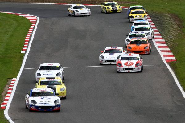 2017 Ginetta nior Champinship,  Brands Hatch, Kent. 30th September - 1st October 2017, Start of the race World copyright. JEP/LAT Images