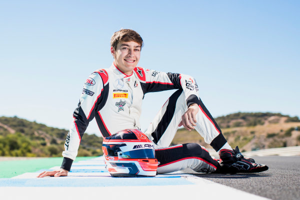2017 GP3 Series Round 7.  Circuito de Jerez, Jerez, Spain. Sunday 8 October 2017. George Russell (GBR, ART Grand Prix).  Photo: Zak Mauger/GP3 Series Media Service. ref: Digital Image _56I3974