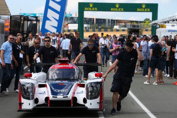 #22 United Autosports Ligier JSP217 Gibson: Philip Hanson, Filipe Albuquerque, Paul di Resta, Wayne Boyd