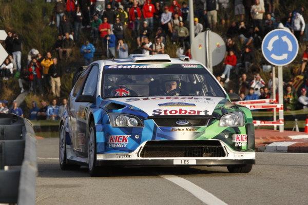 Round 11Rally Catalunya 01-04 October 2009Metthew Wilson, WRC, Ford, ActionWorldwide Copyright: McKlein/LAT