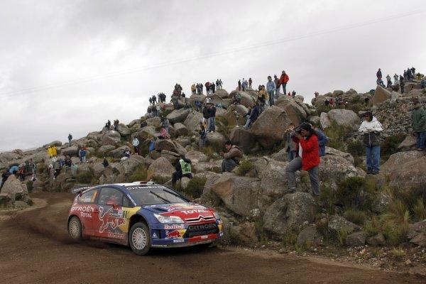 2008 FIA World Rally ChampionshipRound 04Rally Argentina 27-30 of MarchDani Sordo, Citroen, ActionWorldwide Copyright: McKlein/LAT