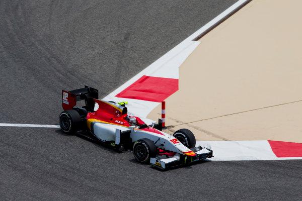 2017 FIA Formula 2 Round 1. Bahrain International Circuit, Sakhir, Bahrain.  Friday 14 April 2017. Stefano Coletti (MON, Campos Racing)  Photo: Zak Mauger/FIA Formula 2. ref: Digital Image _X0W3827