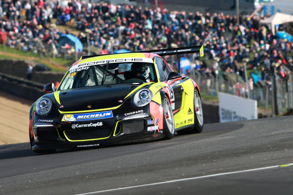 2017 Porsche Carrera Cup GB Brands Hatch, 1st-2nd April 2017 Tom Wrigley  World Copyright. JEP/LAT Images