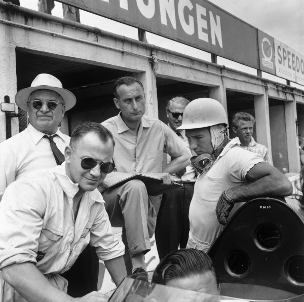 Nurburgring, Germany. 1st June 1958.