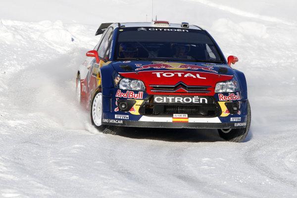 2010 FIA World Rally ChampionshipRound 01Rally Sweden 11-14 February 2010Dani Sordo, Citroen WRC, ActionWorldwide Copyright: McKlein/LAT