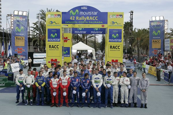 2006 FIA World Rally Champs. Round four Rally Catalunya Spain. 24-26th March 2006Podium.World Copyright: Mcklein/LAT