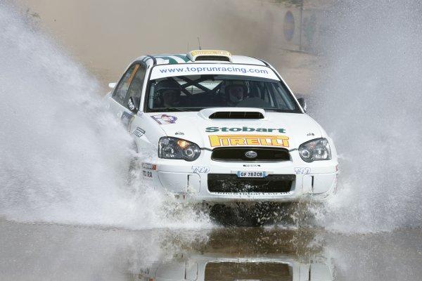2005 FIA World Rally Champs. Round Sixteen, Rally Australia.10th - 13th November 2004.Mark Higgins, Subaru PWRC, action.World Copyright: McKlein/LAT