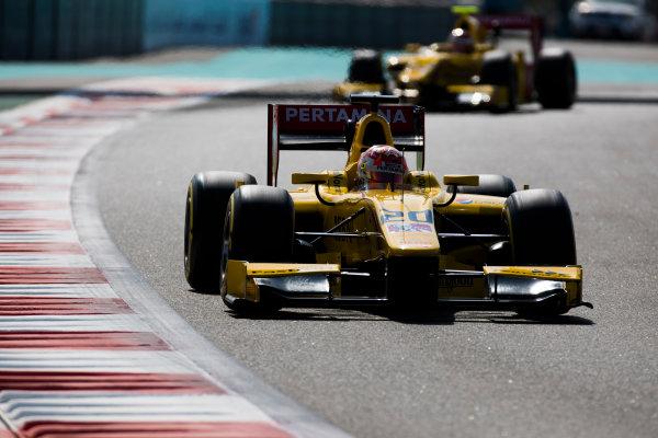 2017 FIA Formula 2 Round 11. Yas Marina Circuit, Abu Dhabi, United Arab Emirates. Friday 24 November 2017. Norman Nato (FRA, Pertamina Arden).  Photo: Sam Bloxham/FIA Formula 2. ref: Digital Image _W6I2126