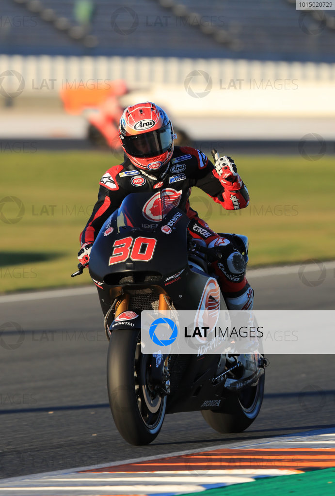 2017 MotoGP Championship - Valencia test, Spain. Tuesday 14 November 2017 Takaaki Nakagami, Team LCR Honda World Copyright: Gold and Goose / LAT Images ref: Digital Image MotoGP2017-ValenciaTest-Day1-1345