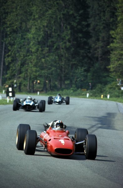 Chris Amon (NZL) Ferrari 312, 3rd place.