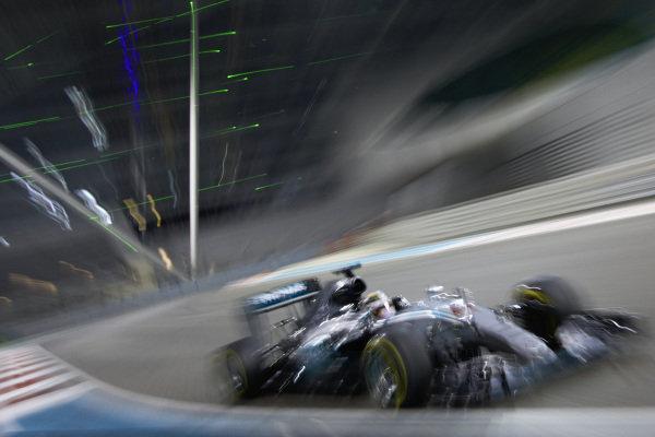 Lewis Hamilton, Mercedes F1 W06 Hybrid.