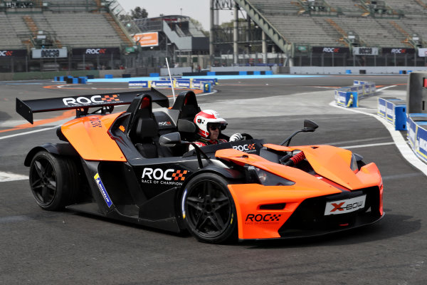 Tom Kristensen (DNK) driving the KTM X-Bow Comp R