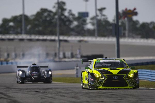 #14 AIM Vasser Sullivan Lexus RC F GT3, GTD: Richard Heistand, Jack Hawksworth, Austin Cindric, Nick Cassidy