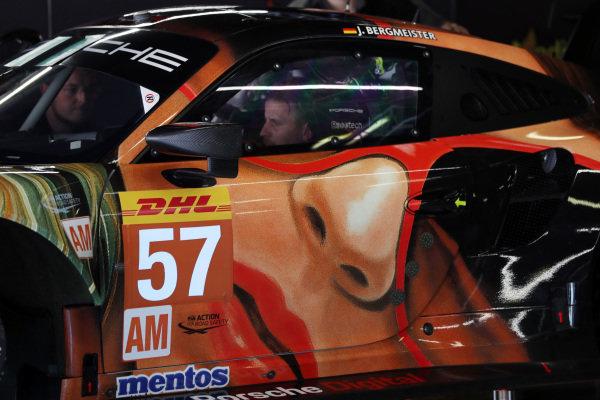 #56 Team Project 1 Porsche 911 RSR:  Patrick Lindsey