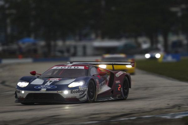 #66 Ford Chip Ganassi Racing Ford GT, GTLM: Joey Hand, Dirk Mueller, Sebastien Bourdais