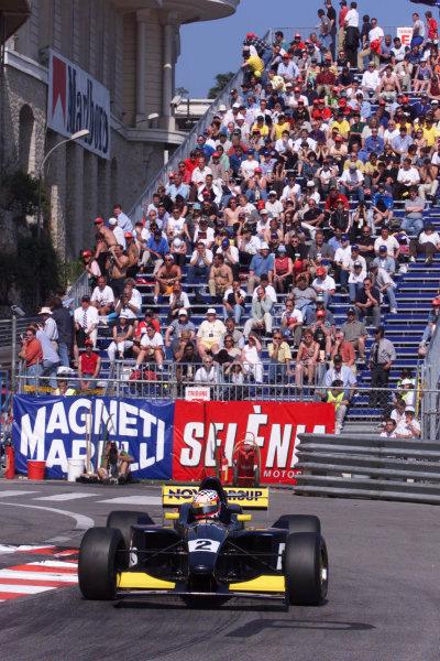 1999 International Formula 3000 Championship.Monte Carlo, Monaco.13 May 1999.Jason Watt (Super Nova Racing), 2nd position.World - Lawrence/LAT Photographic