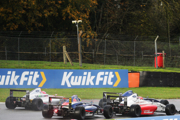Luke Browning (GBR) - Fortec British F4