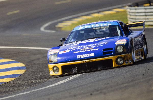 Yojiro Terada / Franck Frèon / Pierre de Thoisy, Team ArtNature, Mazda RX 7 GTO - Mazda 13J Racing.