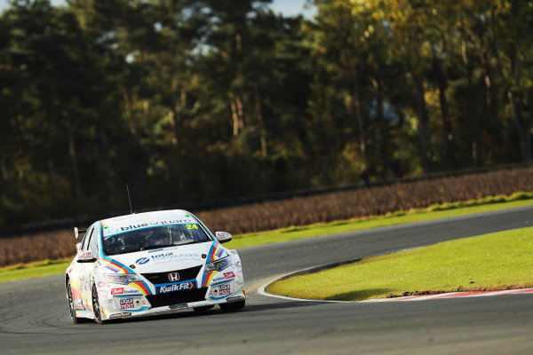 Jake Hill (GBR) - MB Motorsport Honda Civic Type R