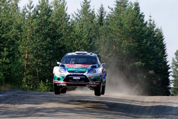 Round 8, Rally Finland, 28th - 30th July 2011Jari Matti Latvala, Ford, ActionWorldwide Copyright: LAT/McKlein