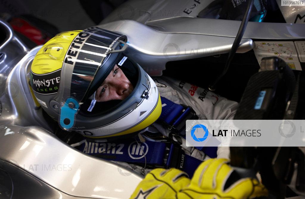 Albert Park, Melbourne, Australia 24th March 2011. Nico Rosberg, Mercedes GP W02. Portrait. Helmets.  World Copyright: Steve Etherington/LAT Photographic ref: Digital Image SNE25090