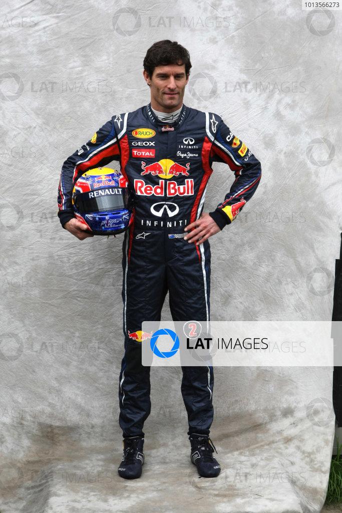 Albert Park, Melbourne, Australia24th March 2011.Mark Webber, Red Bull Racing RB7 Renault. Portrait. World Copyright: LAT Photographicref: Digital Image2_LC1221
