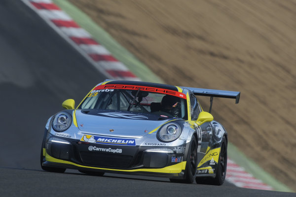 2016 Porsche Carrera Cup Brands Hatch, 2nd-3rd April 2016, Tautvydas BARSTYS Juta Racing World copyright. Jakob Ebrey/LAT photographic