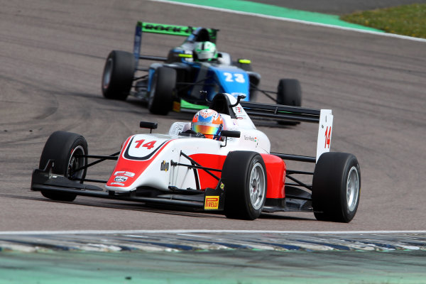2016 BRDC British Formula 3 Championship, Rockingham, Northamptonshire.  30th April - 1st May 2016. Tarun Reddy (IND) Fortec Motorsports BRDC F3. World Copyright: Ebrey / LAT Photographic.