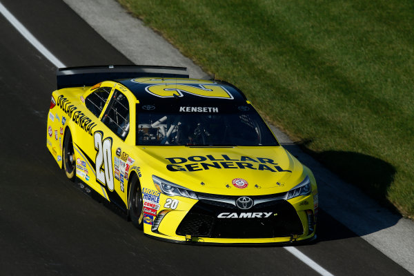 24-26 July, 2015, Indianapolis, Indiana USA Matt Kenseth, Dollar General Toyota Camry ©2015, Michael L. Levitt LAT Photo USA