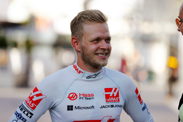 Baku City Circuit, Baku, Azerbaijan. Saturday 24 June 2017. Kevin Magnussen, Haas F1. World Copyright: Steven Tee/LAT Images ref: Digital Image _R3I3402