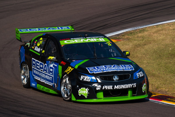 2017 Supercars Championship Round 6.  Darwin Triple Crown, Hidden Valley Raceway, Northern Territory, Australia. Friday June 16th to Sunday June 18th 2017. Cameron McConville drives the #3 LD Motorsports Holden Commodore VF. World Copyright: Daniel Kalisz/LAT Images Ref: Digital Image 160617_VASCR6_DKIMG_1496.JPG