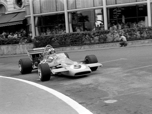 Denny Hulme(NZL) Mclaren M19A, finished in 4th place Monaco GP, 23 May 1971