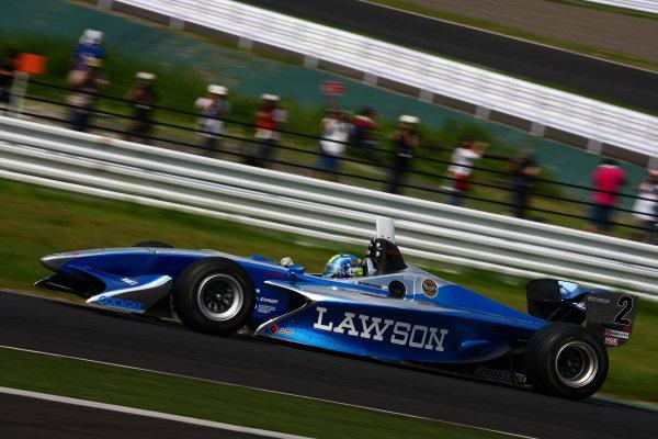 2009 Formula Nippon Championship.Suzuka, Japan. 11th - 12th July 2009.Rd5  - 3rd position Benoit Treluyer ( #2 LAWSON TEAM IMPUL ), action.World Copyright: Yasushi Ishihara/LAT Photographicref: Digital Image 2009FN_Rd5_009