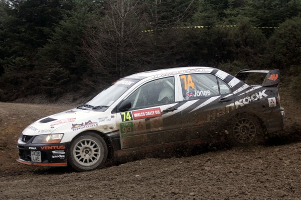 2006 British Rally Championship.Wales Rally GB. 1st-3rd December 2006.Stuart Jones,World Copyright: Ebrey/LAT Photographic.