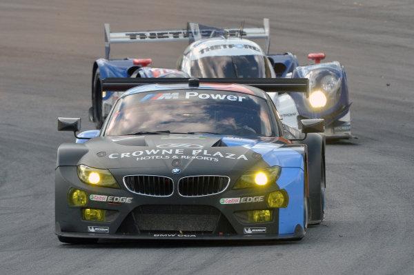16-19 October, 2013, Braselton, Georgia USA #55 BMW Team RLL followed by #16 Lola ©2013, Dan R. Boyd LAT Photo USA