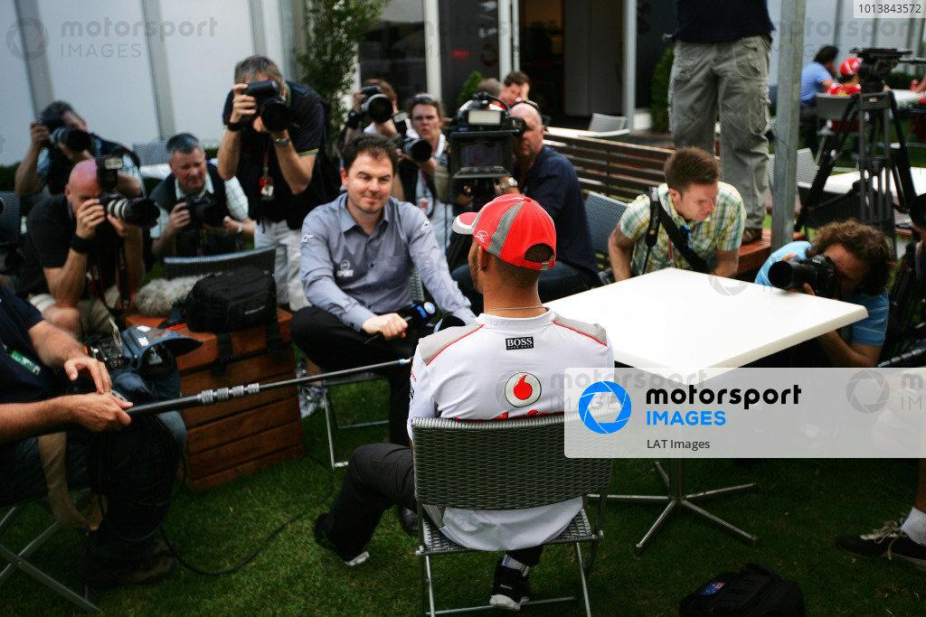 2012 Australian Grand Prix Thursday
