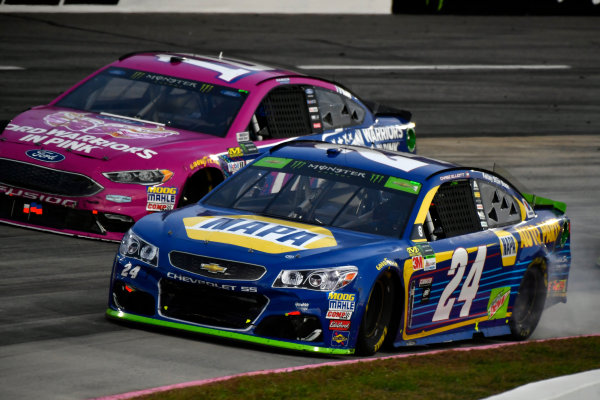Monster Energy NASCAR Cup Series First Data 500 Martinsville Speedway, Martinsville VA USA Sunday 29 October 2017 Chase Elliott, Hendrick Motorsports, NAPA Chevrolet SS World Copyright: Scott R LePage LAT Images ref: Digital Image lepage-171029-mart-9117