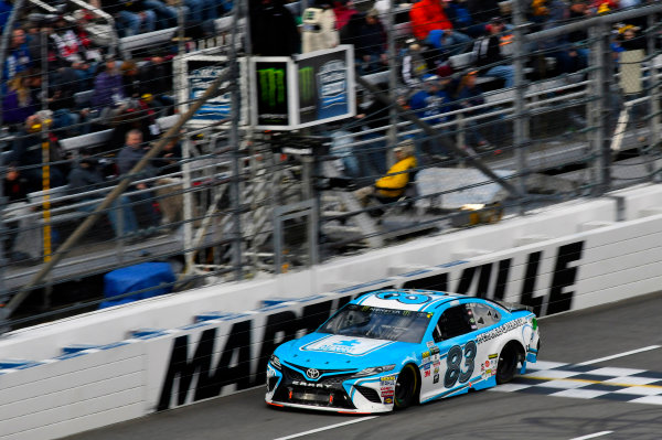 Monster Energy NASCAR Cup Series First Data 500 Martinsville Speedway, Martinsville VA USA Sunday 29 October 2017 Gray Gaulding, BK Racing Douglas, Earthwater Toyota Camry World Copyright: Nigel Kinrade LAT Images