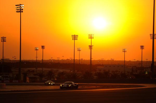 2017 FIA World Endurance Championship, Bahrain Internaternal Circuit, Bahrain. 16th-18th November 2017, #51 AF Corse Ferrari 488 GTE: James Calado, Alessandro Pier Guidi,   World Copyright. JEP/LAT Images