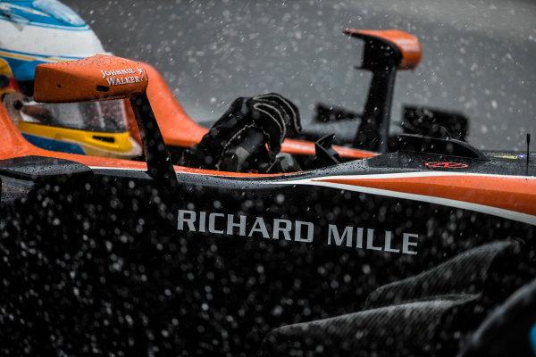 Suzuka Circuit, Japan. Friday 6 October 2017. Fernando Alonso, McLaren MCL32 Honda. World Copyright: Glenn Dunbar/LAT Images  ref: Digital Image _31I6558