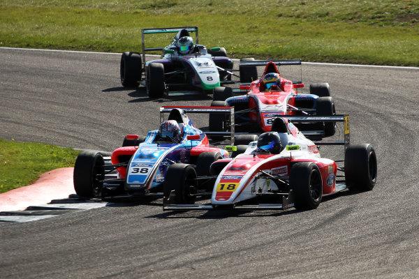 2017 British F4 Championship, Rockingham, 26th-27th August 2017, Hampus Ericsson (SWE) Fortec Motorsports British F4  World copyright.. JEP/LAT Images