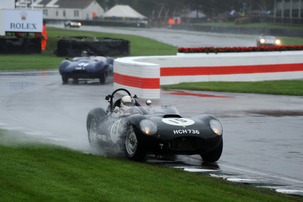 2017 Goodwood Revival, Goodwood Estate, West Sussex, England.  8th-10th September 2017 Sussex Trophy Steve Boultbee Brooks Lister World Copyright: Jeff Bloxham/LAT Images, Ref: Digital Image
