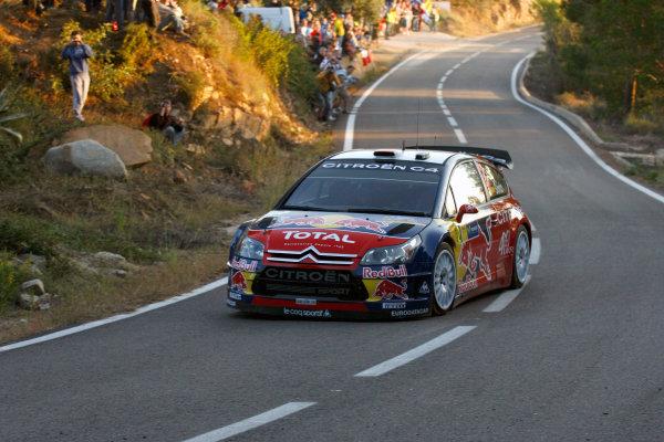 Round 11, Rally of Spain, Catalunya2nd-5th October 2008Dani Sordo, Citroen, actionWorldwide Copyright: McKlein/LAT